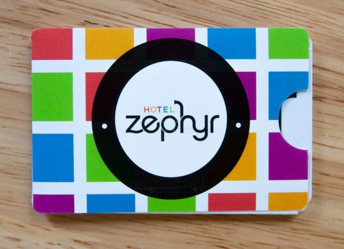 Hotel Zephyr Key Card Holder